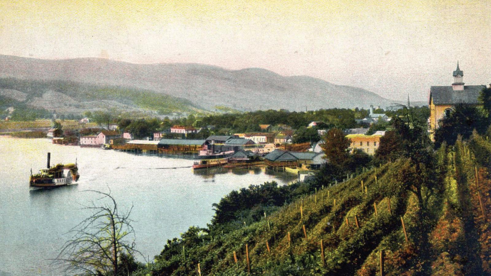 Hammondsport Landscape Painting