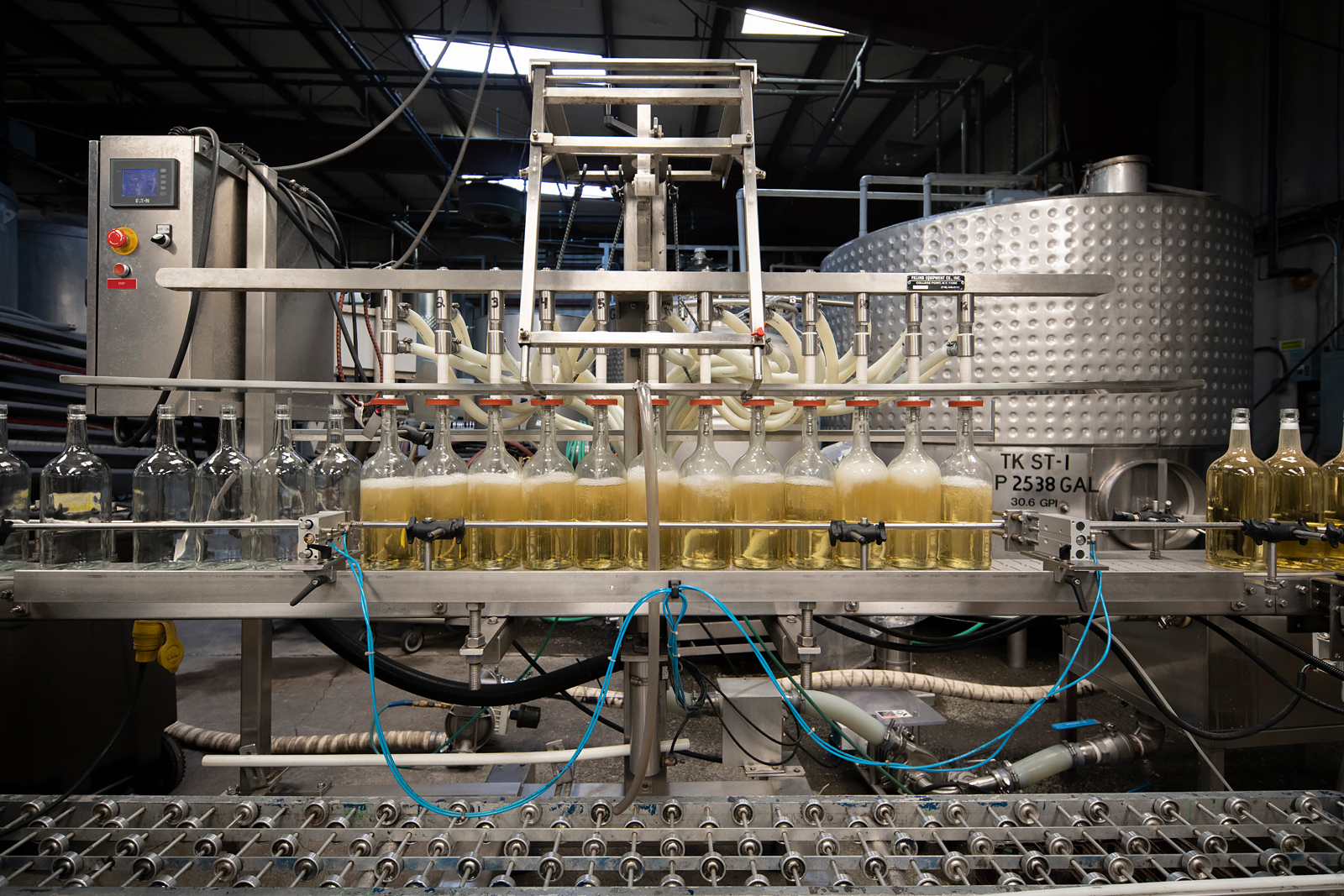 Bottling Facility Filling 2 L bottles